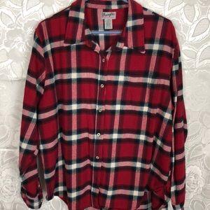💙Wrangler Ranger shirt FLANNEL